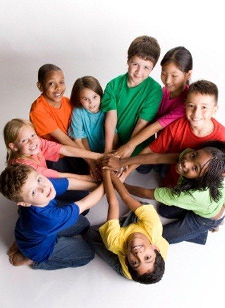 Children Teamwork