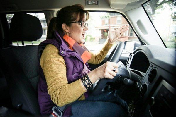 agresivos al volante