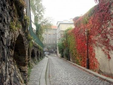 calle Amelie en Montmatre