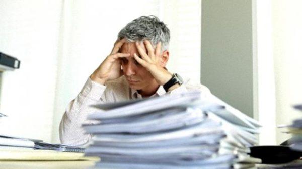 estres laboral sintomas