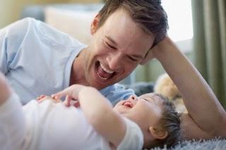 reir con un bebe