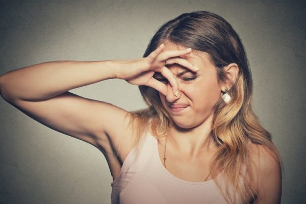 Sindrome olfativo referencia oler mal