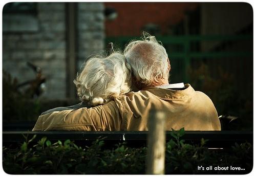 ancianos amor