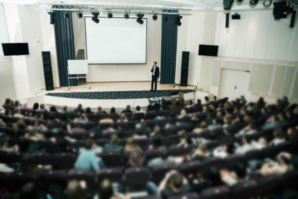 Hablar publico conferencia