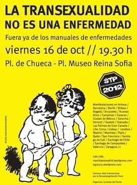 la transexualiad no es una enfermedad MADRID