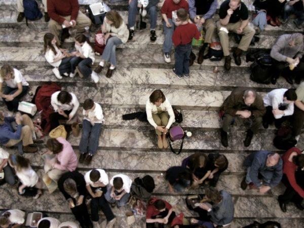 Soledad redes sociales solo