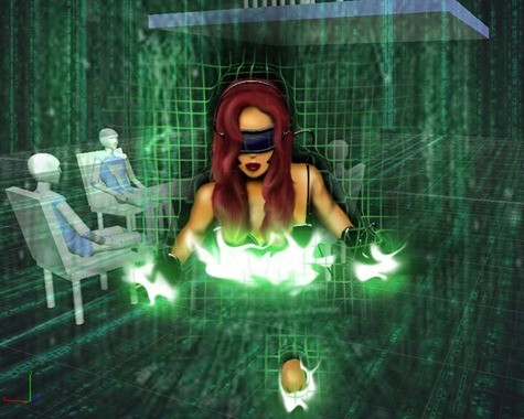 personajes virtuales
